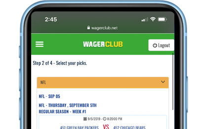 FULLY MOBILE BETTING